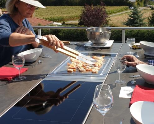 la cuisine à table, un concept unique créé par Aurehum