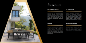 Catalogue Aurehum marque mobilier extérieur haut de gamme