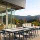 table extérieure design sur-mesure